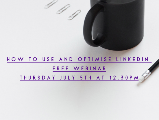 How to Use and Optimise LinkedIn Webinar with City CV